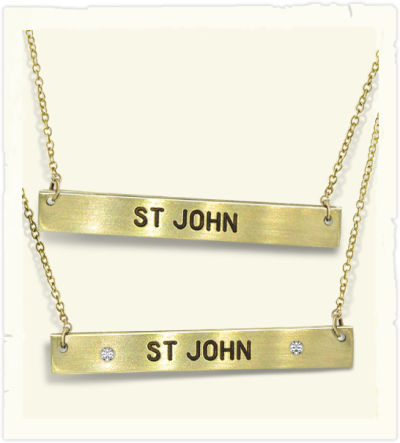 Caribbean pendants and necklaces  from St John jewelry store